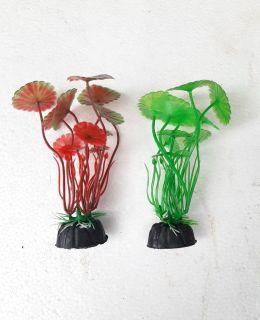 Phụ kiện trang trí bể cá cây nhựa cỡ nhỏ x 2 cây thumbnail