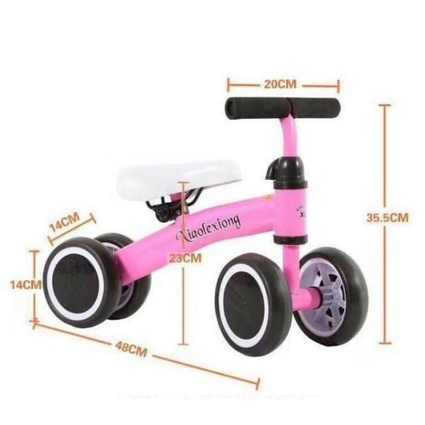 Phân phối Xe chòi chân cân bằng 4 bánh Mini xiaoloxiong