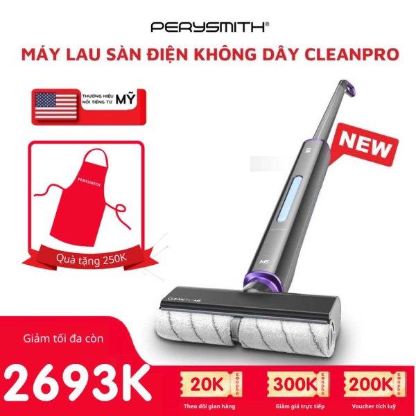 Máy lau sàn không dây Perysmith CleanPro M5 cầm tay cao cấp