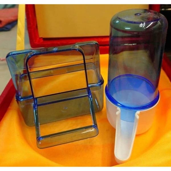 [HCM]Combo 1máng ăn và 1 cóng nước