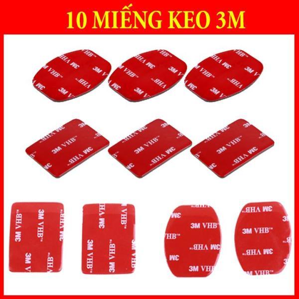 10 Miếng Keo 3M Vuông - Bầu