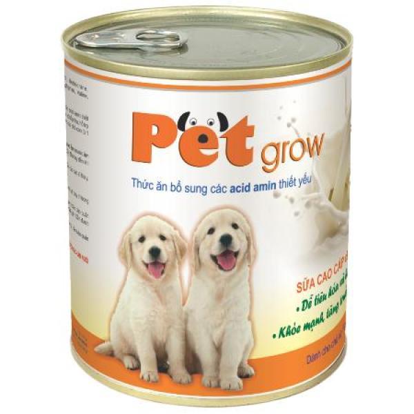 Sữa chó con PET GROW (không tiêu chảy), lon 200g, Vemedim