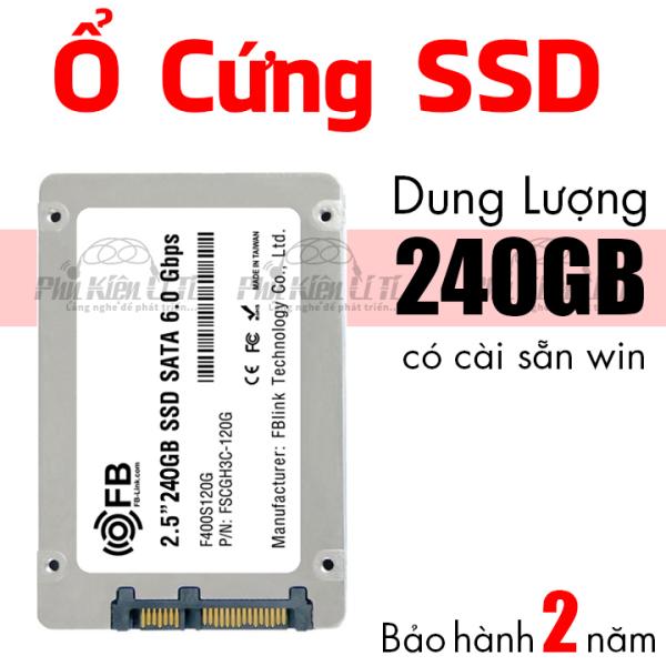 Bảng giá Ổ cứng máy tính SSD 240GB FB-Link Cài sẵn hệ điều hành Bảo Hành 2 Năm Phong Vũ