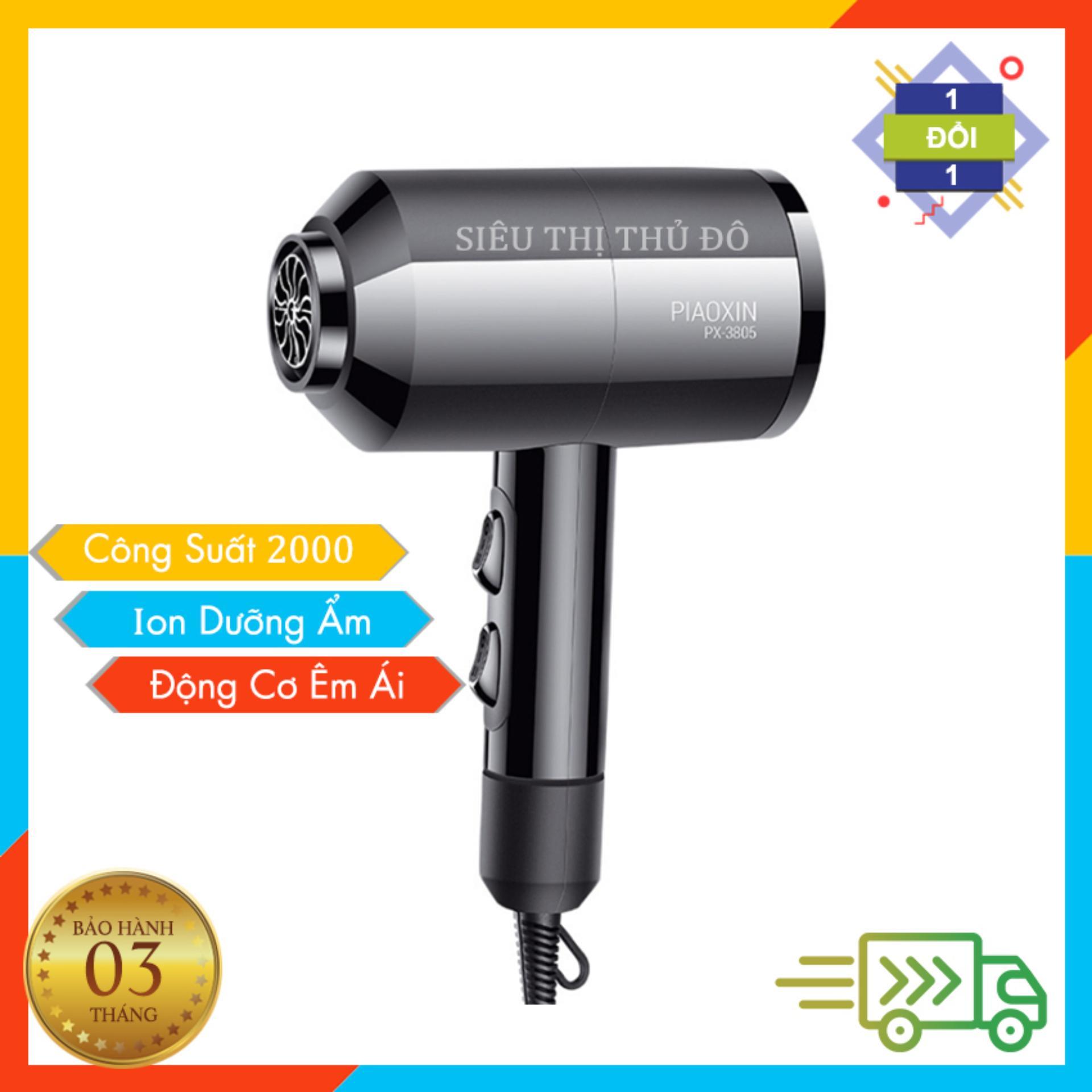 Máy sấy tóc PIAOXIN PX-3805(Đen) chính hãng