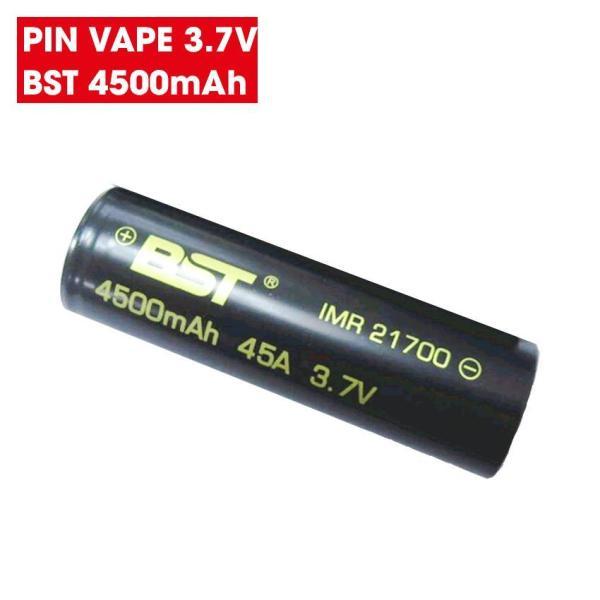 Pin sạc 3.7v 21700 dung lượng 4500mAh BST dòng xả 45A (1 VIÊN)