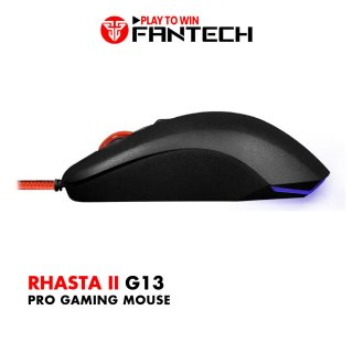 Chuột Gaming Có Dây Fantech G13 RHASTA II 2400DPI LED RGB 4 Phím - Hãng Phân Phối Chính Thức thumbnail