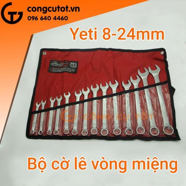 Bộ cờ lê vòng miệng 14 chi tiết Yeti 8-24 mm