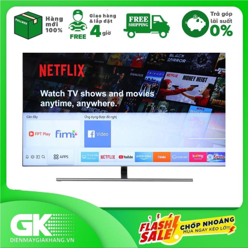 [GIAO HÀNG 2 - 15 NGÀY, TRỄ NHẤT 30.09] TRẢ GÓP 0% - Smart Tivi Samsung 4K QLED 65 inch 65Q7FNA - Công nghệ tương phản Q Contrast đỉnh cao  Công nghệ giả lập âm thanh vòm Dolby Digital Plus - Bảo hành 2 năm chính hãng