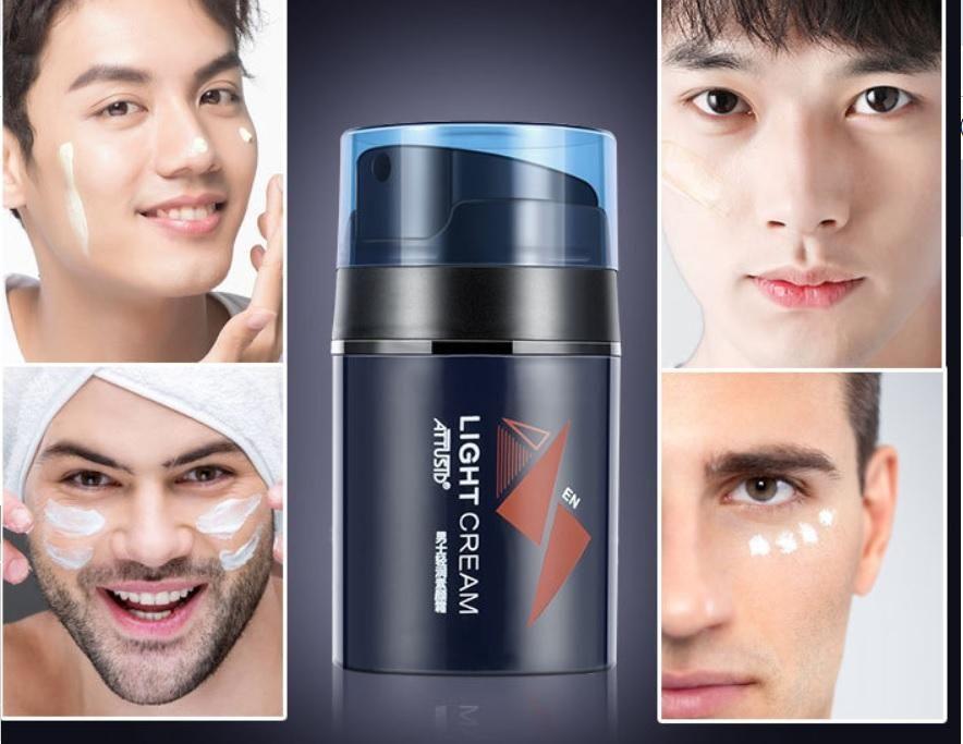 Light makeup kem trang điểm cho Nam thần thánh ATTUSID