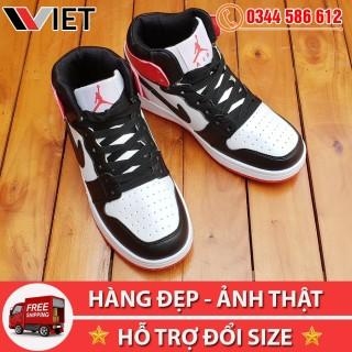 [MIỄN PHÍ SHIP TOÀN QUỐC] Giày Thể Thao Air Jordan 1 Đen Đỏ Giá Sale thumbnail