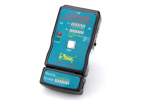 Bảng giá [Tặng pin] Hộp test cable mạng RJ45, cable USB 2 đầu, cable máy in cao cấp CT168 Phong Vũ