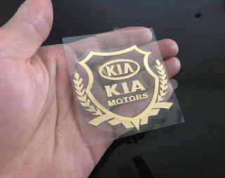 Bộ 2 Logo Decal 3D dán xe ô tô (KIA) thumbnail