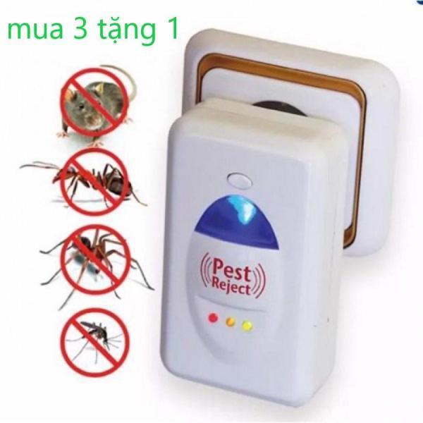 Đèn bắt muỗi, Thiết Bị Đuổi Muỗi, Chuột, Gián Mối Mọt Pest Reject Thế Hệ 3 Sống Âm Tần Số 0,80 Hz, Bảo Hành Uy Tín 1 Năm Mã 539