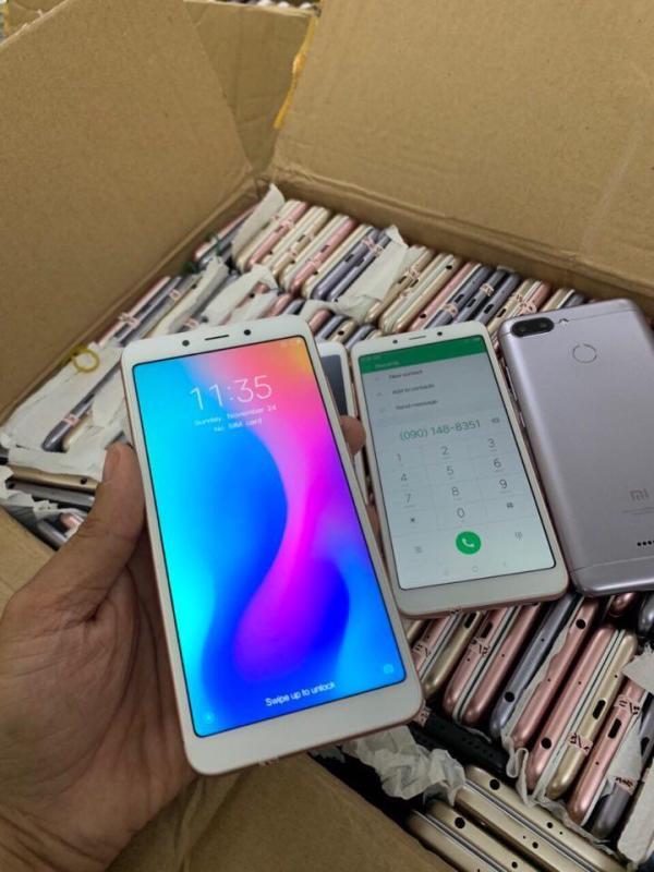 Điện Thoại Xiaomi Redmi 6 (3/32GB) giá rẻ - Pin trâu cấu hình mạnh chơi game mượt - Cảm biến vân tay