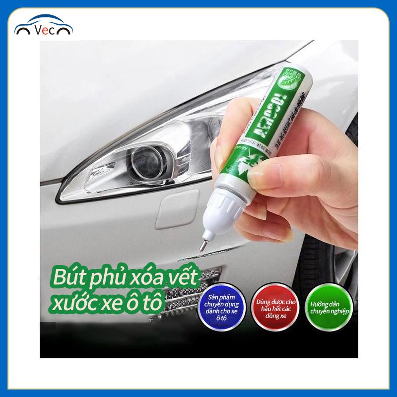 Bút xóa vết trầy xước xe ô tô; Bút phủ màu trắng/ màu đen che vết xước sửa chữa xe ô tô; Bút thần thánh che vết xước dành cho xe ô tô 12ml
