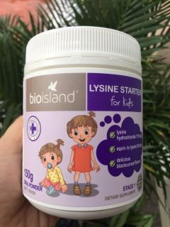 Tăng chiều cao Bột Ly Bột Uống Bio Island Lysine Starter cho trẻ em 150g thumbnail