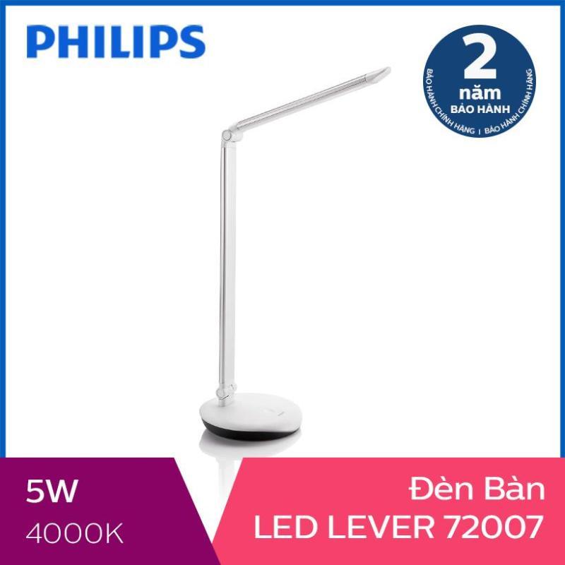 Đèn bàn Philips LED Lever 72007 5W