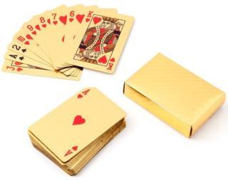 (LOẠI 1 CHỐNG NƯỚC) - Bộ Bài Tây Mạ Vàng 52 lá- Bộ Bài Tây Dollar, Euro, Họa Tiết Mạ Vàng Cao Cấp Sang Trọng [Thao2] Dũng Dũng 1 thumbnail