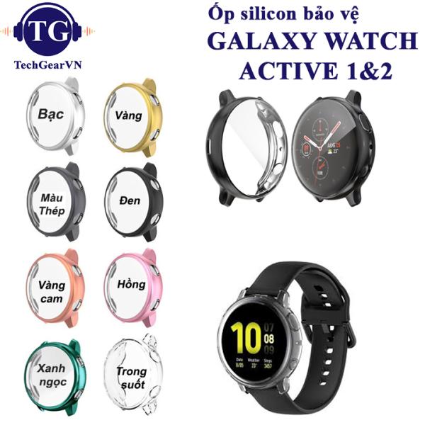 Ốp Silicon Đồng Hồ Samsung Galaxy Watch Active 2