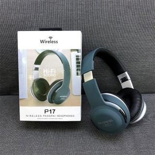 Tai Phone Bluetooth, Có Mic, Chụp Tai P17, Âm Thanh Sống Động, Khả Năng Chống Ồn Cao. SP Bảo Hành 1 Đổi 1 thumbnail