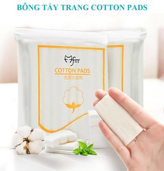 Bông tẩy trang 222 miếng 100% cotton