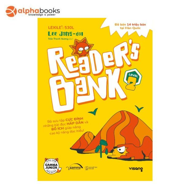 Sách Alphabooks - Readers Bank Level 2