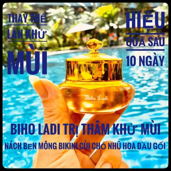 Biho Ladi (Biholadi) Siêu dưỡng thâm 5S Đánh bay thâm - khử mùi Nách, Bẹn, Mông, Nhũ Hoa, Vùng Bikini [ MUA 1 TẶNG 1] nhập khẩu