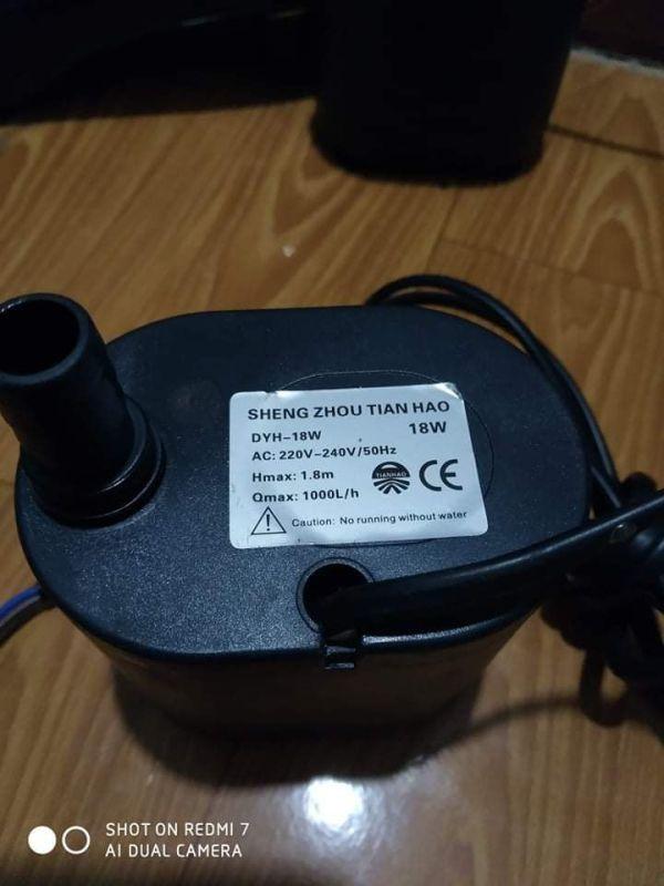 máy bơm quạt hơi nước