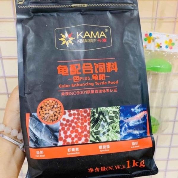 Thức ăn cho rùa baba tăng màu KAMA 1kg