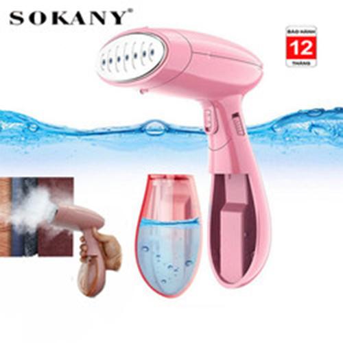 Bàn là hơi nước cầm tay gấp gọn Sokany3050 công suất 1500W, ủi nhanh mọi loại vải không lo mỏi tay [ BẢO HÀNH 1 NĂM ]