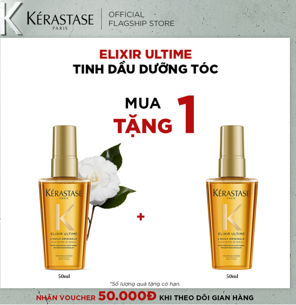 Serum chăm sóc tóc chắc khỏe Kérastase Elixir Ultime 50ml