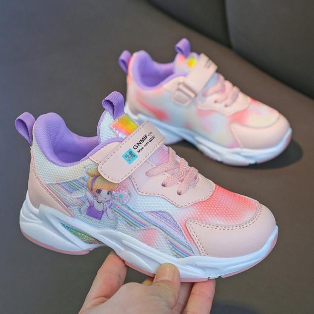 Giày đi học bé gái , giày thể thao bé gái - Mẫu mới nhất GGS49 giá rẻ