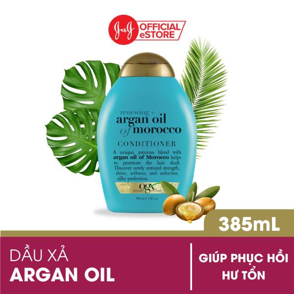 Dầu xả OGX Renewing + Argan oil of Morocco 385ml cao cấp