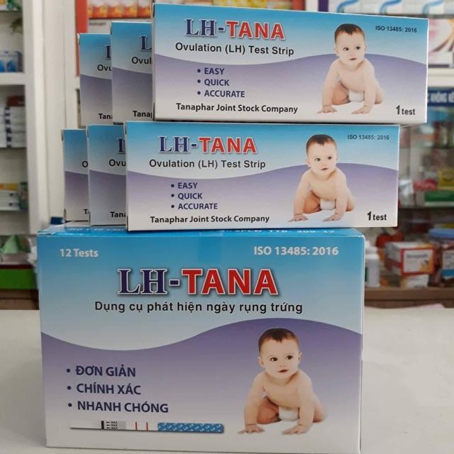 Bộ 12 que thử rụng trứng LH- TANA (PANSO Store) nhập khẩu