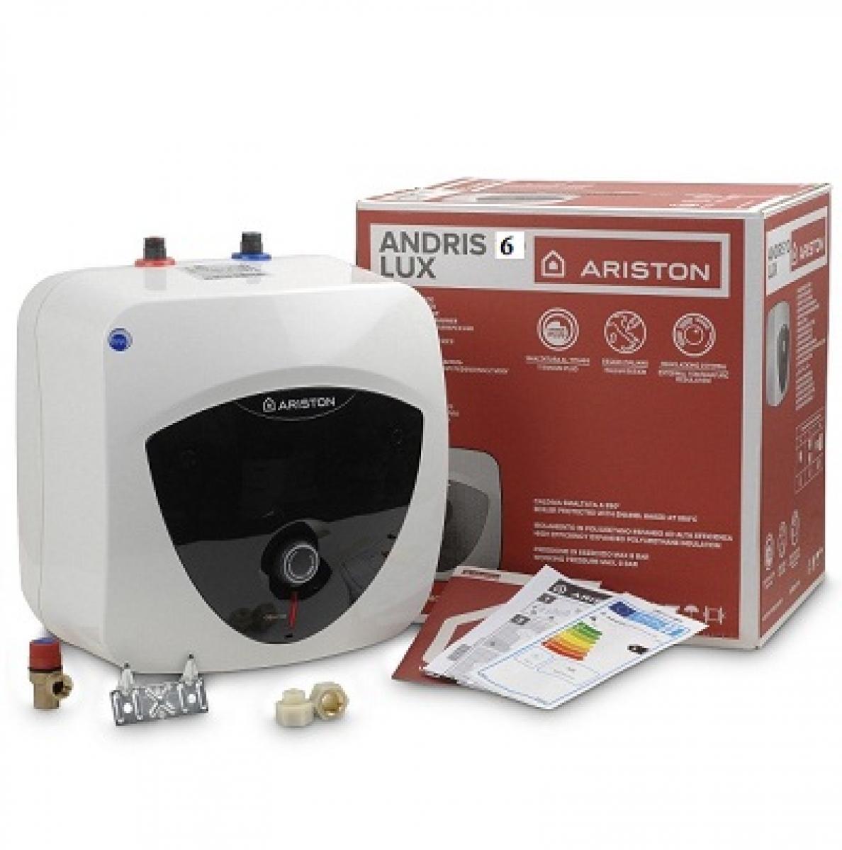 Bảng giá Bình nóng lạnh 6 Lít Ariston Adris Lux AN6LUX BE 1.5 FE ( lắp tủ bếp dưới)