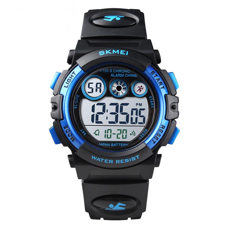 Nơi bán Đồng hồ thể thao trẻ em - đồng hồ điện tử bé trai dây cao su Skmei 1451