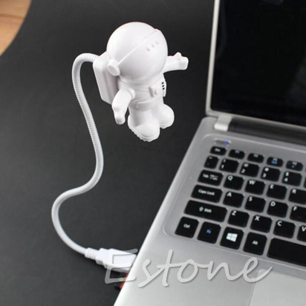 Bảng giá Mini USB Linh Hoạt Spaceman Phi Hành Gia Đêm Bóng Đèn LED siêu sáng cho Laptop Đọc Sách, Trắng tp hồ chí minh 5346 Phong Vũ