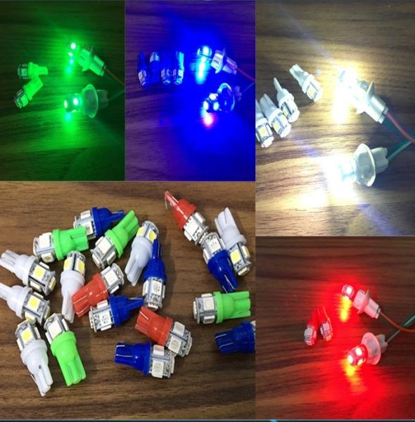 [ GIÁ 1 ĐÔI] Đèn xi nhan xe máy, đèn xi nhan 5 tim, đèn xi nhan 1 tầng dành cho xe máy, dùng ĐIỆN BÌNH