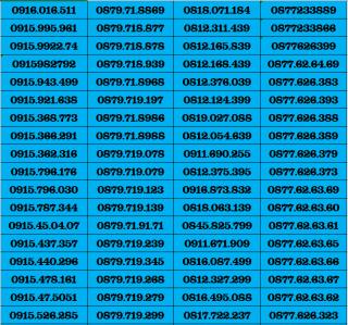SIM SỐ ĐẸP VINAPHONE ĐỒNG GIÁ 390K DK ĐƯỢC GÓI HEY90 D60G D30G- SIM NGỌC MAI thumbnail