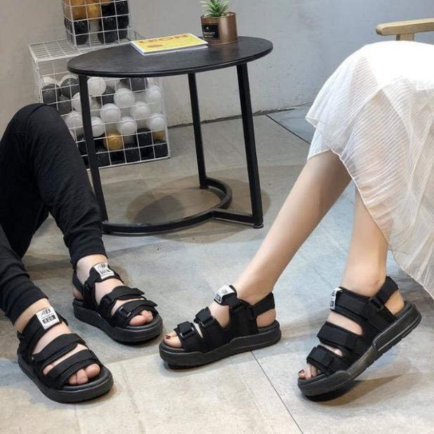 Sandal Nam và nữ quai chữ AB siêu bền đẹp-  giày sandal dép sandal học sinh mới (phom nhỏ đặt tăng 1 size nha các bạn)) giá rẻ