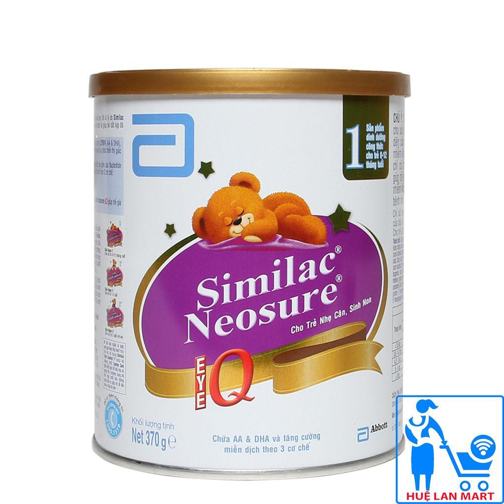 Sữa Bột Abbott Similac Neosure 1 - Hộp 370g (Cho...