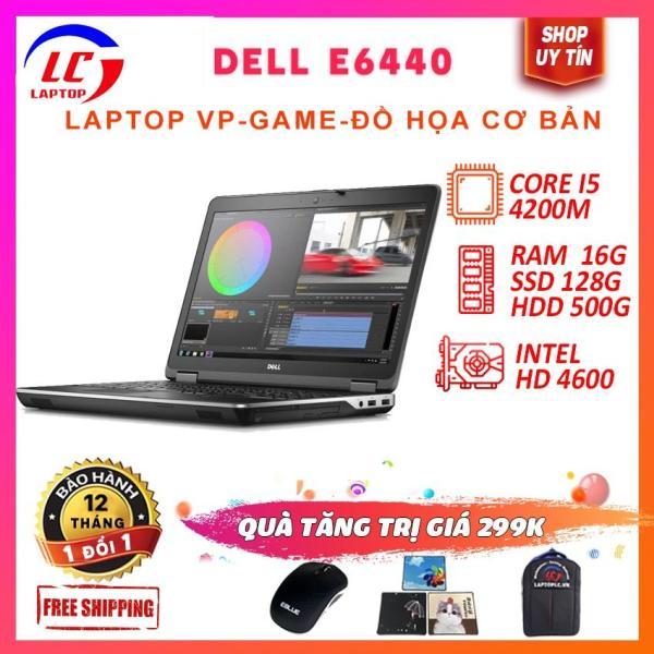 Bảng giá Laptop Dell Latitude E6440 Core i5-4200M - VGA on Intel HD 4600, màn 14  HD - laptop game Phong Vũ