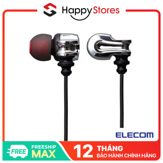 [VOUCHER 7% cap 800k] Tai Nghe Nhét Tai Elecom EHP-SL100A Chính Hãng thumbnail