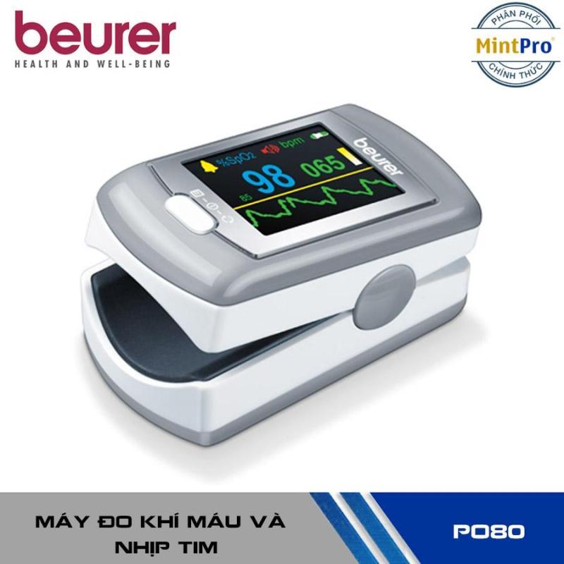 Máy Đo Khí Máu Và Nhịp Tim Cá Nhân Pin Sạc, Kết Nối USB Beurer PO80 bán chạy