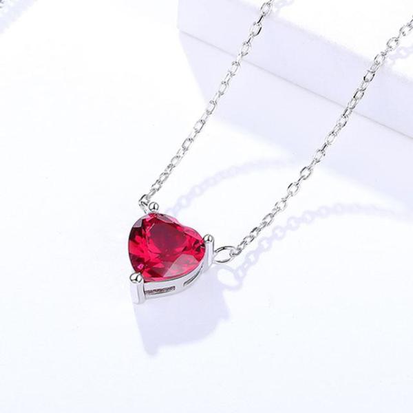 Dây Chuyền Bạc Hình Trái Tim DB2325 Bảo Ngọc Jewelry