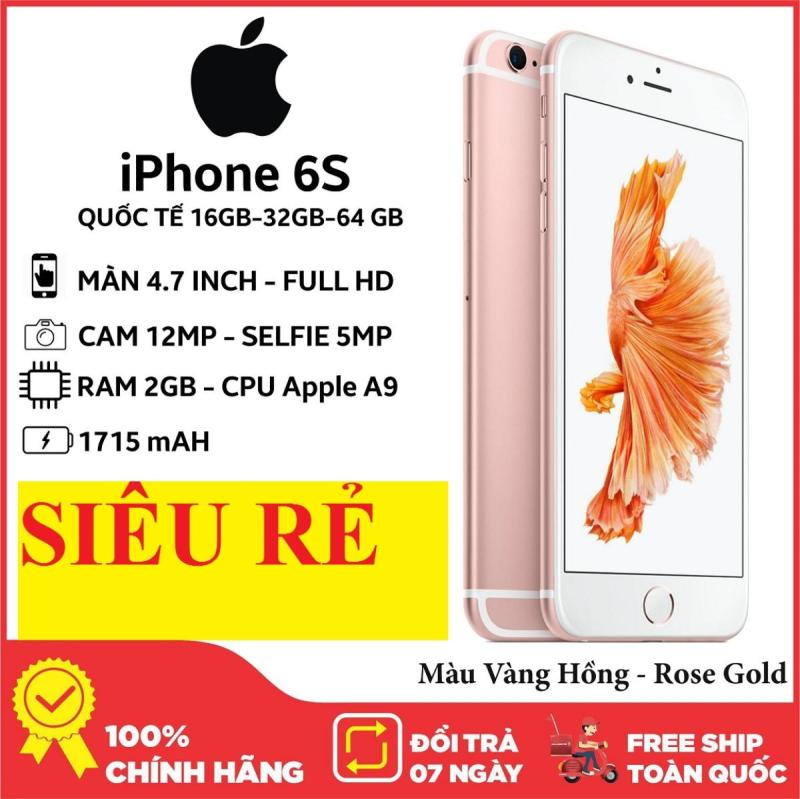 điện thoạiAPLE IPHONE6S 64G/32G mới zin, Chơi game mượt, full Vân tay