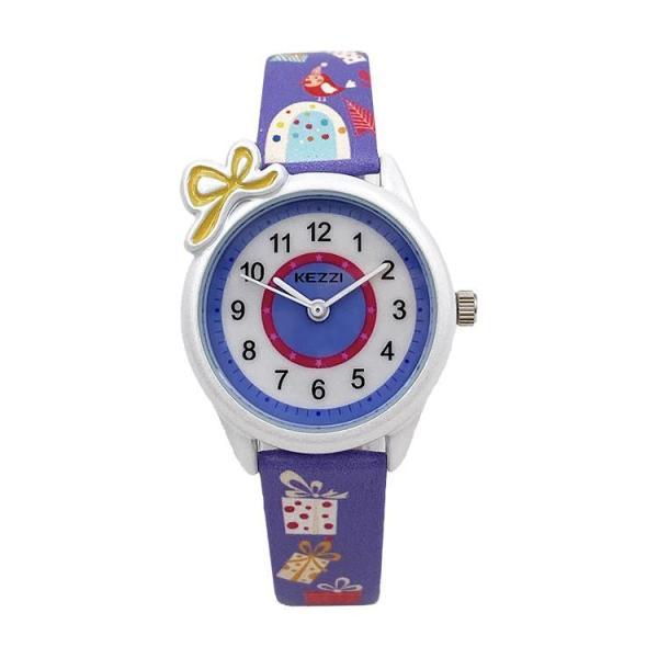 Giá bán Đồng hồ thời trang trẻ em nơ xinh Kezzi PKHRKE015 (đường kính: 28mm)