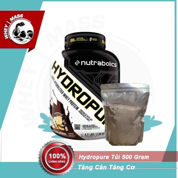 Túi Dùng Thử Sữa Whey Tăng Cơ Nutrabolics Hydropure 500gram