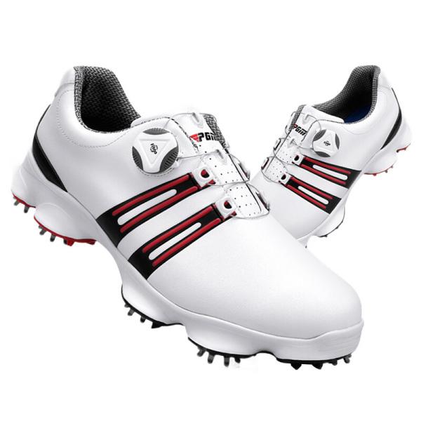 Giày Golf Nam - PGM XZ102 Men Microfibre Auto-Lacing Golf Shoes