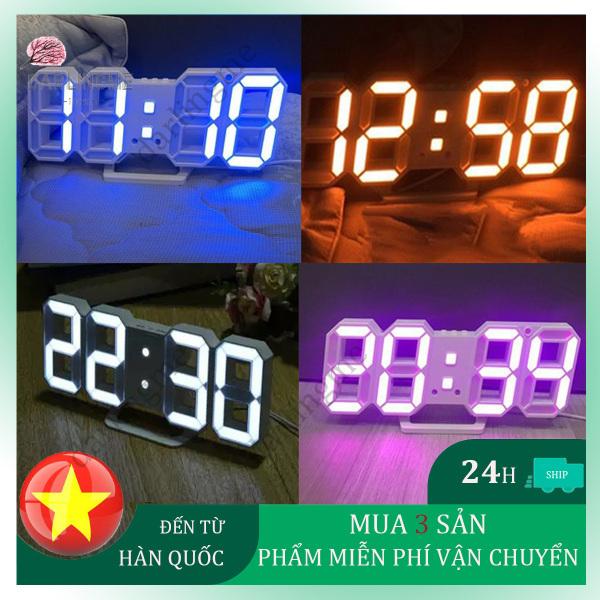 Nơi bán Đồng hồ LED 3D treo tường, để bàn thông minh TN828
